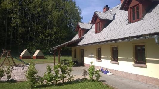 Chata v Rudníku, kempování pro děti