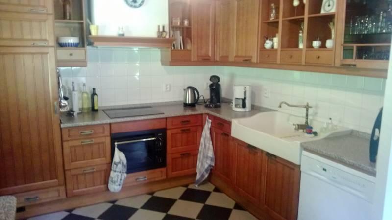 Kuchyně v chatě