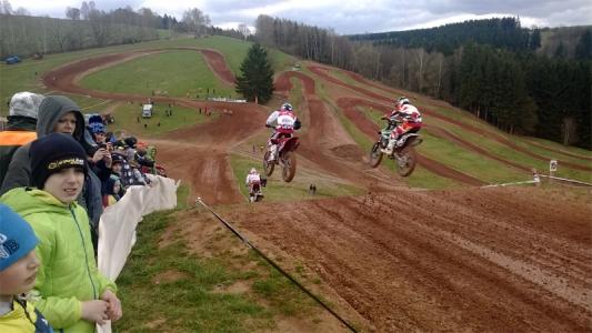 Rudnická rokle motocross