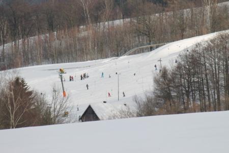 sjezdovky ve Ski areálu Mladé Buky