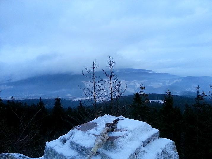 Výhled z Modrých kamenů