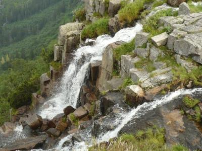 Pohled na Pančavský vodopád