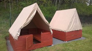 Nové stany s podsadou