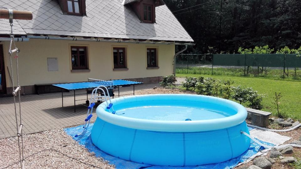 Nový venkovní bazén
