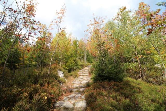 Turisticka trasa na Cernou horu