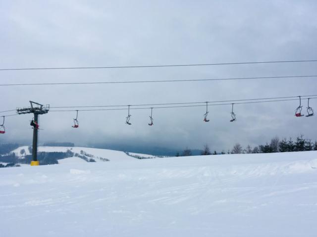 Skiareál Mladé Buky